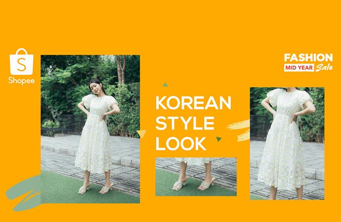 Korean Style Look